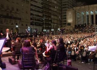MSR y la Orquesta Sinfónica del Centenario