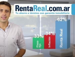 Renta Real, la inversión que le gana a todo. Invertí y ganá una renta mensual.