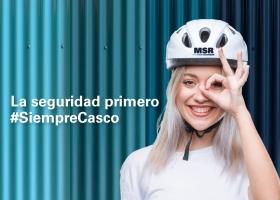 MSR se suma a la campaña Siempre Casco
